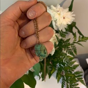 **FREE** Green Stone Necklace
